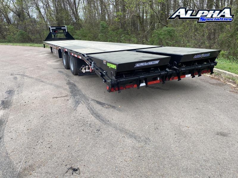 2020 Load Trail GP24 Low-Pro 102 x 40  w/Under Frame Bridge & Pipe Bridge Equipment Trailer 25900 GVWR
