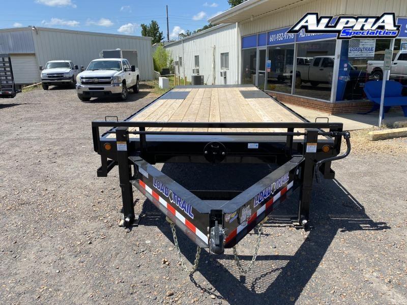 "2020 Load Trail 102"" x 24' Tandem Pintle Hook Equipment Tilt Deck 14K GVWR"