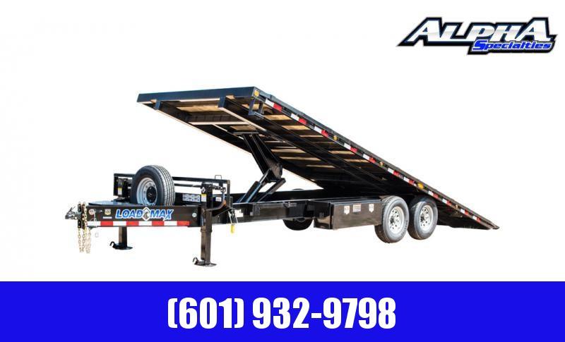 2020 Load Trail Tandem Pintle Hook Equipment Tilt Deck 14K GVWR