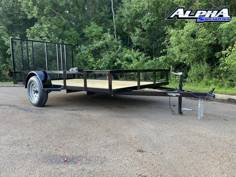 2020 Bye Rite 6 x 12 Single Axle 2990 GVWR Utility Trailer