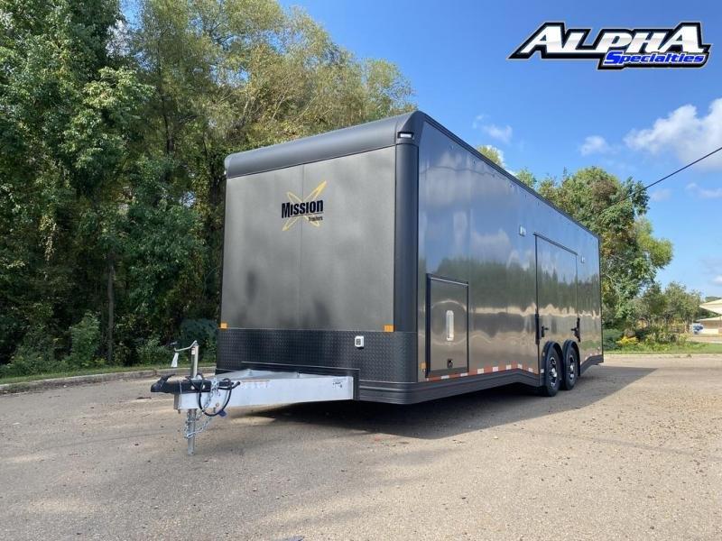 2021 ALCOM 8.5 x 28 Enclosed Cargo Trailer