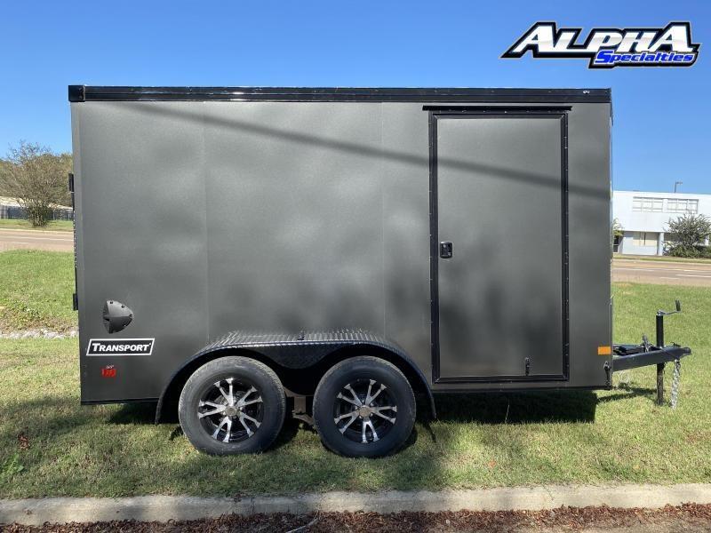 2021 Haulmark 6' x 12' Transport V-Nose Tandem Axle Enclosed / Cargo Trailer 7K GVWR