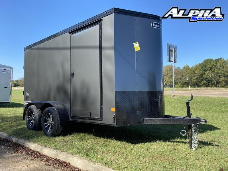 2021 Haulmark 6' x 12' Transport V-Nose Tandem Axle Enclosed / Cargo Trailer 7K GVWR