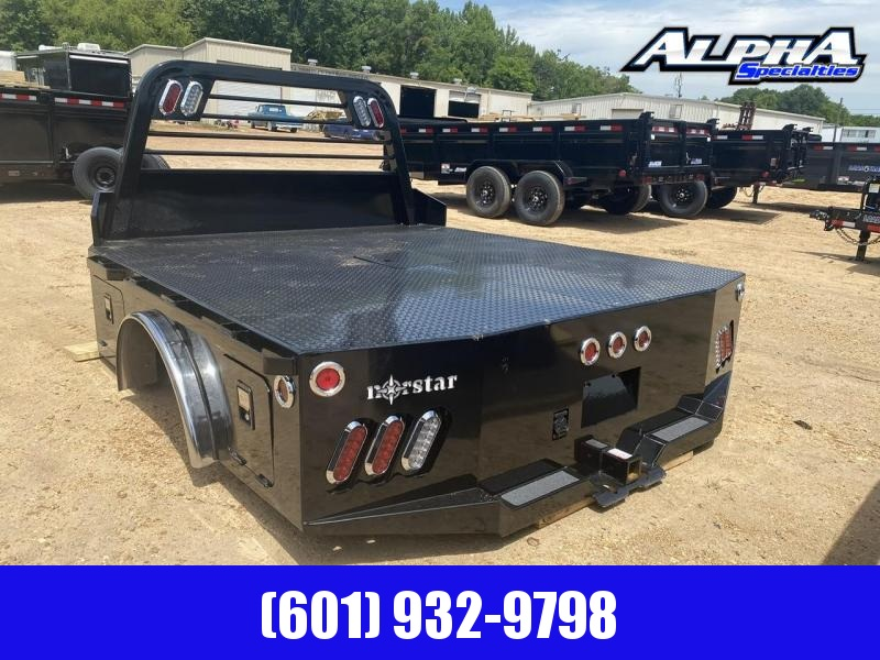 "2020 Norstar Skirted Truck Bed 8' 6"" x 97"" - CTA 56"" W/ 37.75"" HR 2.5"" Rec Hitch Chrome Accent"