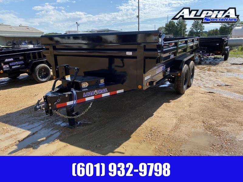 """2020 Load Trail 83"""" x 14' MAX BED Tandem Axle Dump Trailer 14K GVWR"""