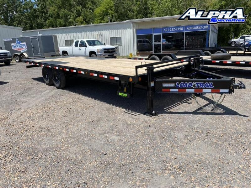 "2020 Load Trail 102' x 24"" Tandem Pintle Hook Equipment Tilt Deck"