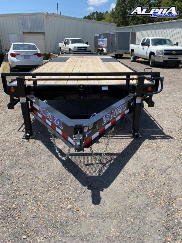 "2020 Load Trail 102' x 24"" Tandem Pintle Hook Equipment Tilt Deck"