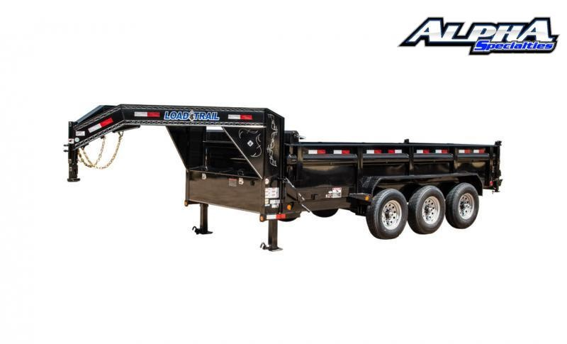 "2021 Load Trail 83"" x 16' Triple Axle Gooseneck Drop-N-Go (Frame Only) 21K GVWR"