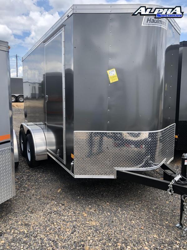 2021 Haulmark 6 x 12 Tandem Axle Enclosed Trailer