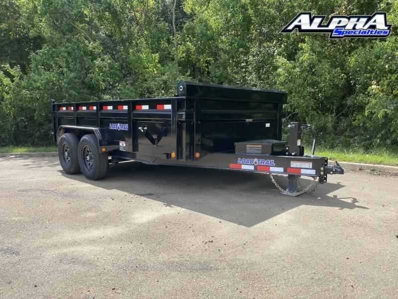 """2021 Load Trail 83"""" x 14' Tandem Axle Dump-24"""" Sides"""