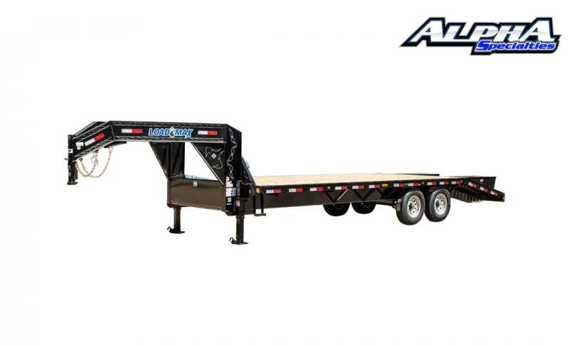 "2020 Load Trail 102"" x 28' Tandem Heavy Duty Gooseneck Equipment Trailer 14K GVWR"