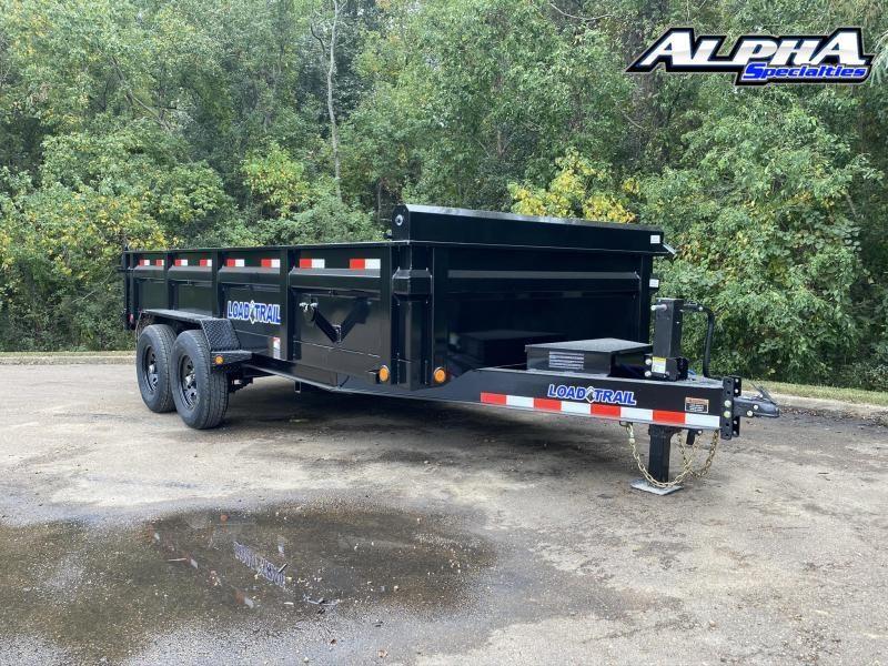 """2022 Load Trail 83"""" x 16' Tandem Axle Dump - 24"""" Sides"""