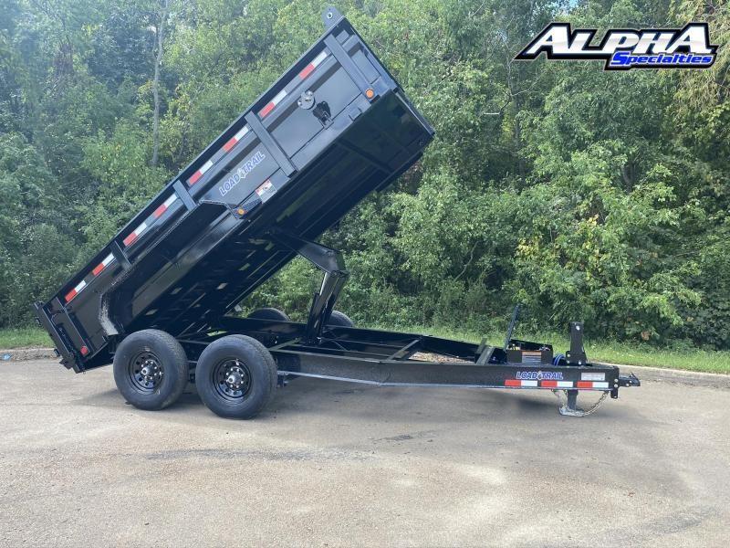 """2021 Load Trail 83"""" x 14' Tandem Axle Dump 14K GVWR- 24"""" Sides"""