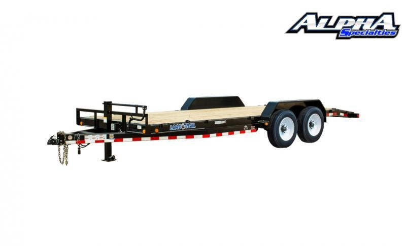 "2021 Load Trail 102"" x 36' Tandem Axle Carhauler (80"" Between Fenders) 16K GVWR"