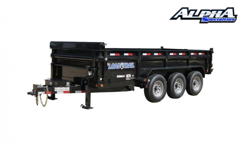 "2021 Load Trail 83"" x 16' Triple Axle Dump w/ 24"" Sides 21K GVWR"