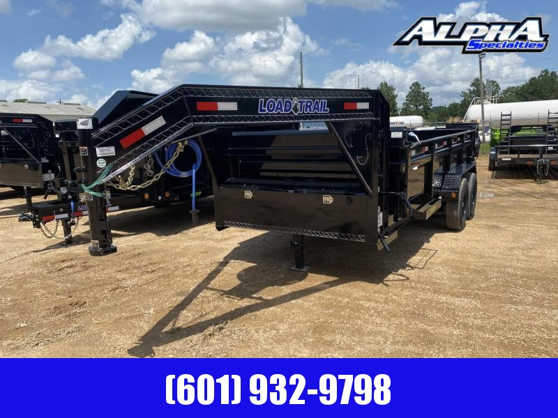 "2020 Load Trail  83"" x 16' Tandem Axle Gooseneck Dump Trailer 14K GVWR"