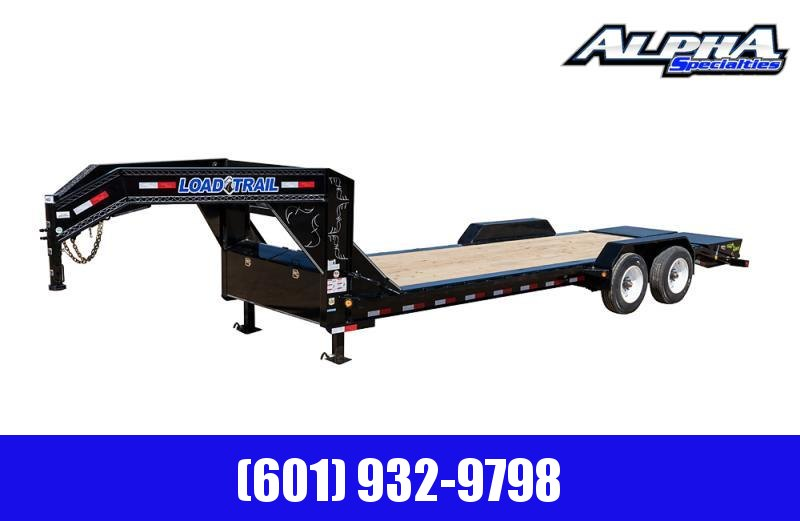 "2020 Load Trail 102"" x 28' Tandem Axle  10""  I-Beam Frame Gooseneck Equipment Hauler 20K GVWR"