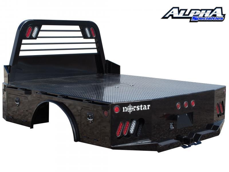 "2021 Norstar ST 8'6"" X 84"" - CTA 58"" Skirted Truck Bed"