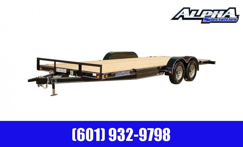 """2020 Load Trail 83"""" x 20' Tandem Axle Carhauler w/ Steel Deck 7K GVWR"""