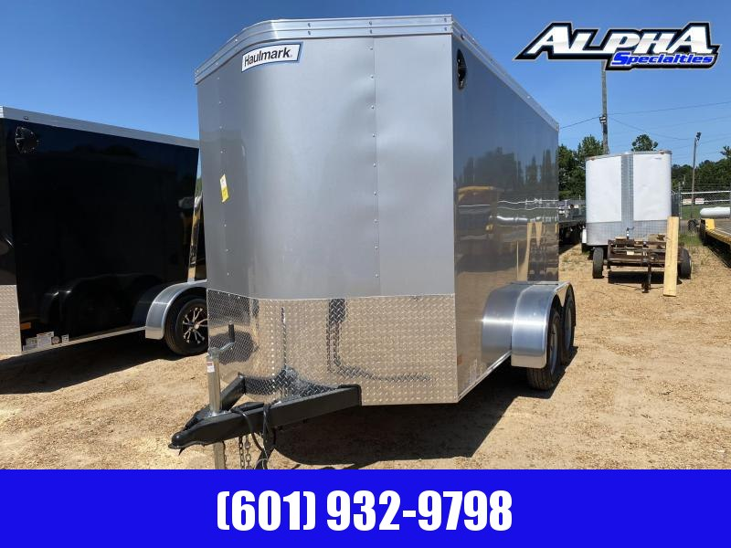 2020 Haulmark 6' x 12' Enclosed Cargo Trailer 7K GVWR