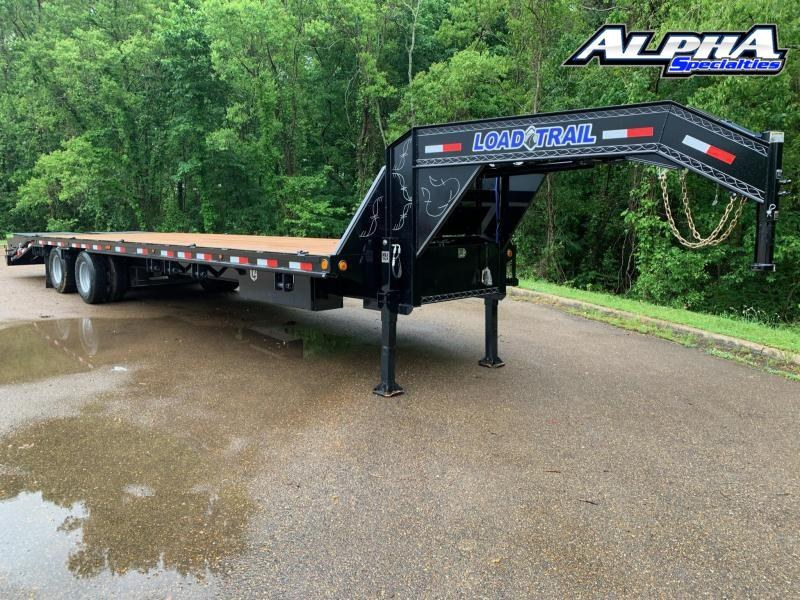 "2021 Load Trail 102"" x 32' Tandem Heavy Duty Gooseneck w/ Air Ride & Lift Axle 24K GVWR"