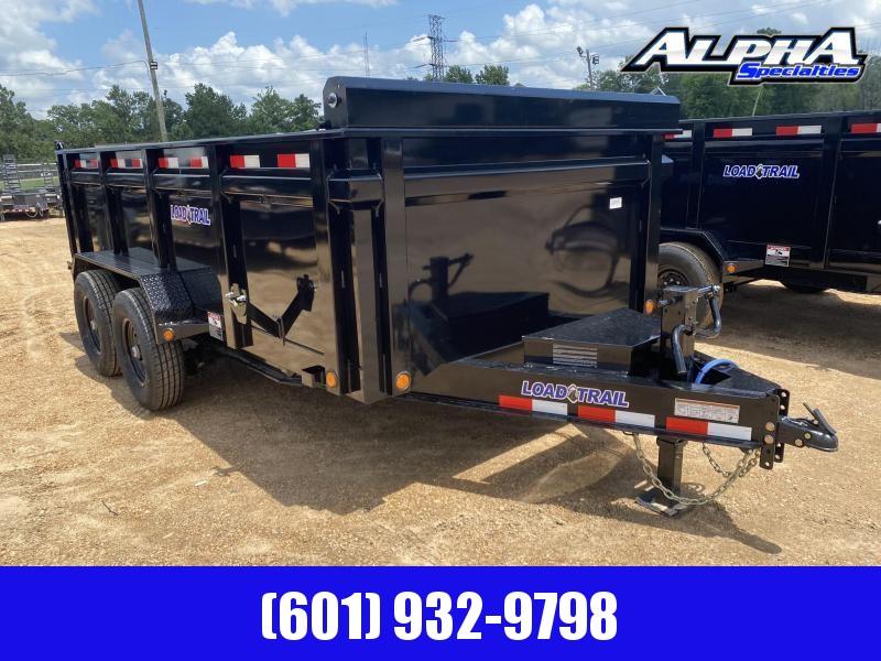 "2020 Load Trail 83"" x 14' Tandem Axle Dump Trailer 14K GVWR w/ 36"" Sides"
