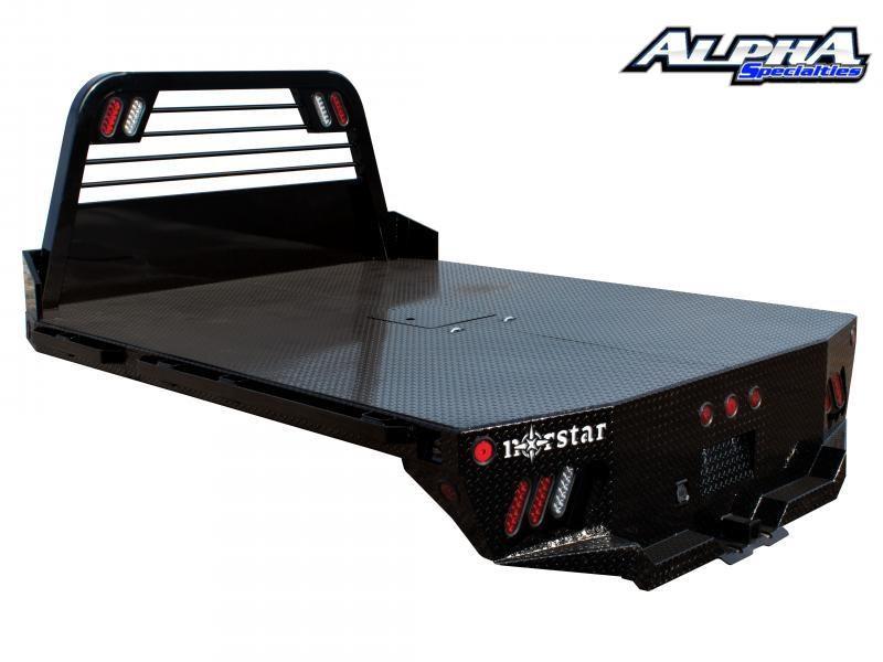 "2021 Norstar SR 9' 4"" X 97"" CTA 60"" Diamond Plate Flat Truck Bed"