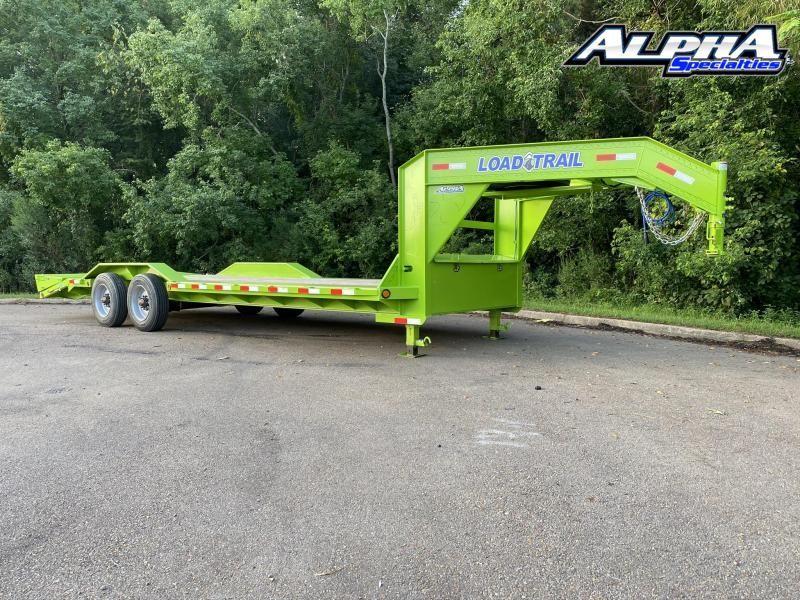 "2020 Load Trail 102"" x 24' Tandem Axle 10"" I-Beam Frame Gooseneck Equipment Hauler 20K GVWR"