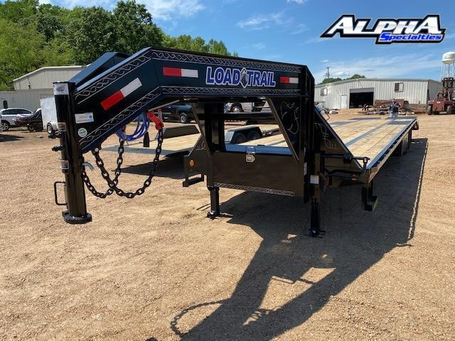 "2020 Load Trail Low-Pro 102"" x 40' w/ Under Frame Bridge & Pipe Bridge Equipment Trailer 24K GVWRd"