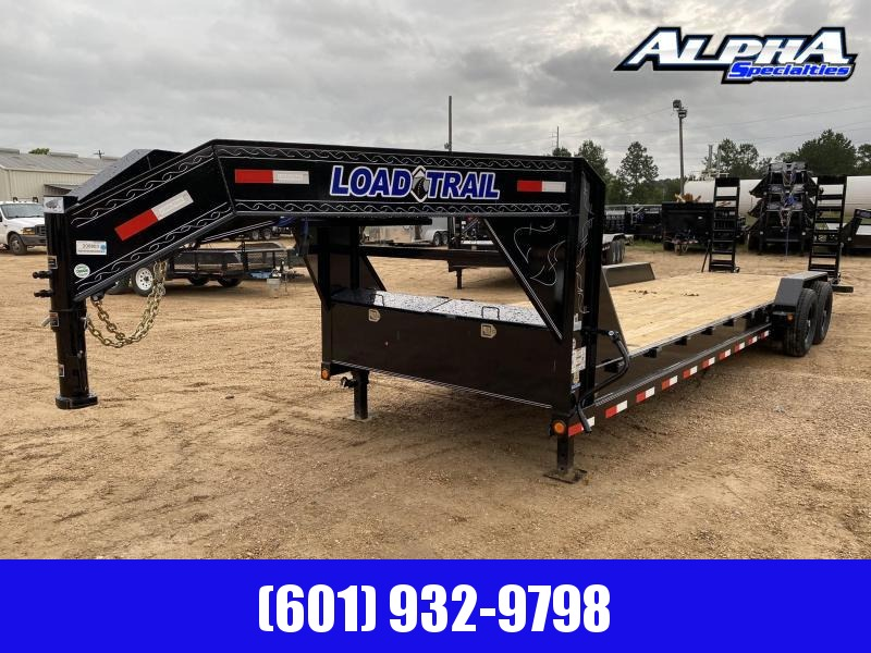 "2020 Load Trail 80"" x 28' Tandem Gooseneck Carhauler Car / Racing Trailer"
