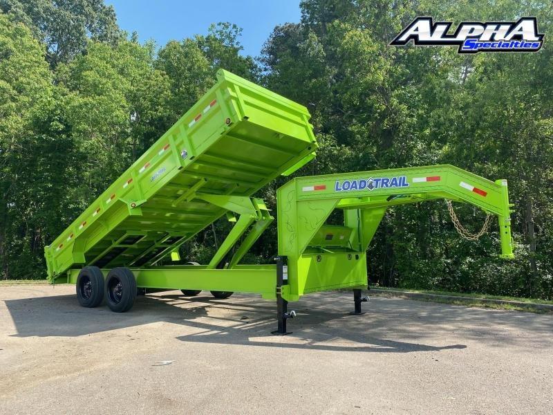 "2020 Load Trail 83"" x 20' Tandem Axle 12"" I-Beam Heavy duty Gooseneck Dump"