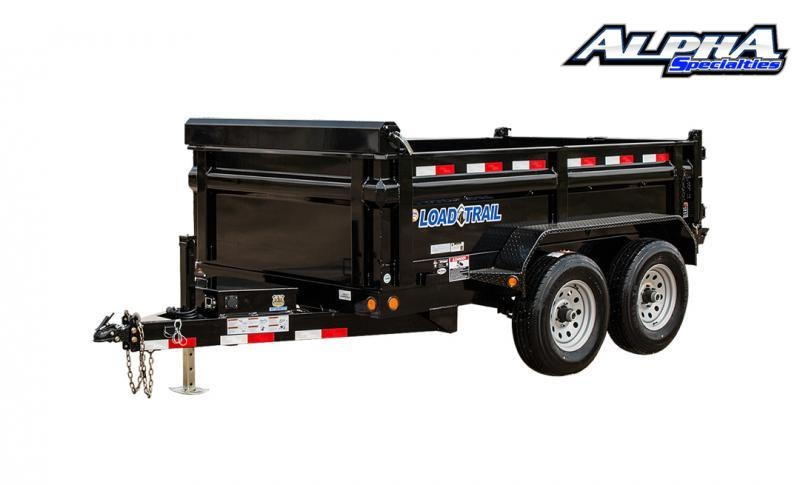 """2021 Load Trail 72"""" x 12' Tandem Axle  Dump 9999K GVWR"""