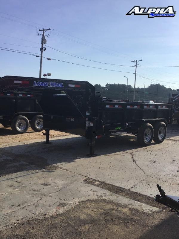 "2021 Load Trail 83"" x 14' Tandem Axle Gooseneck Dump - 36"" Sides"
