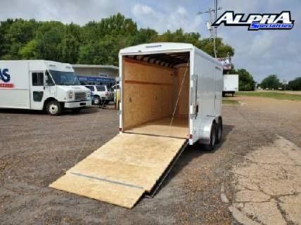2021 Haulmark 6' x 12' Enclosed Cargo Trailer 7K GVWR