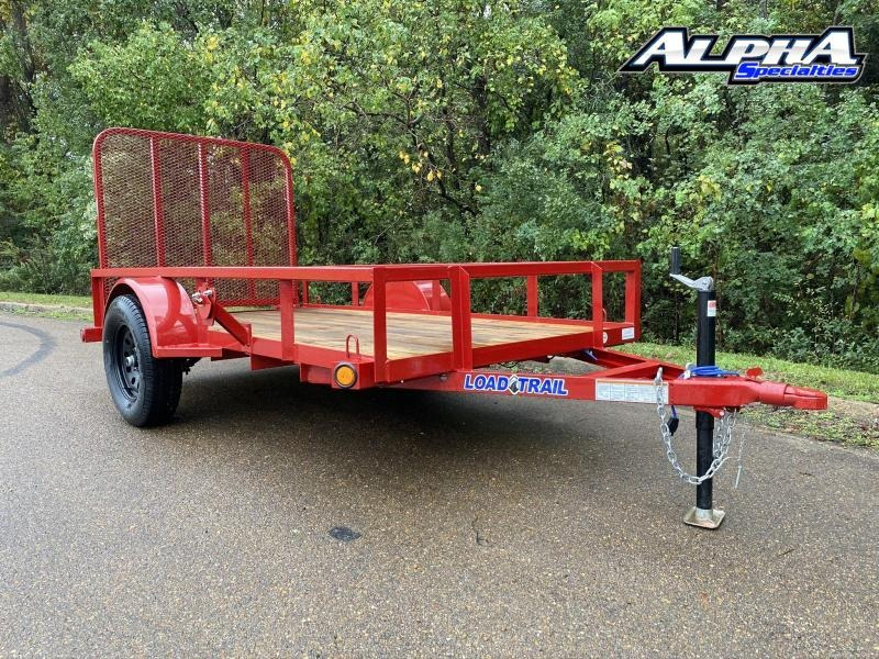 "2021 Load Trail 60"" x 10' Single Axle (2"" x 3"" Angle Frame) Utility Trailer 3K GVWR"
