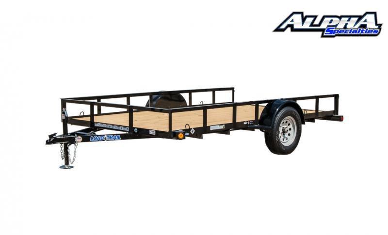 "2021 Load Trail 60"" x 10' Single Axle (2"" x 3"" Angle Frame) Utility Trailer 3K GVWR"