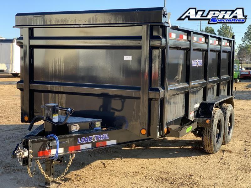 """2021 Load Trail 83"""" x 14' Tandem Axle Dump 14K GVWR"""