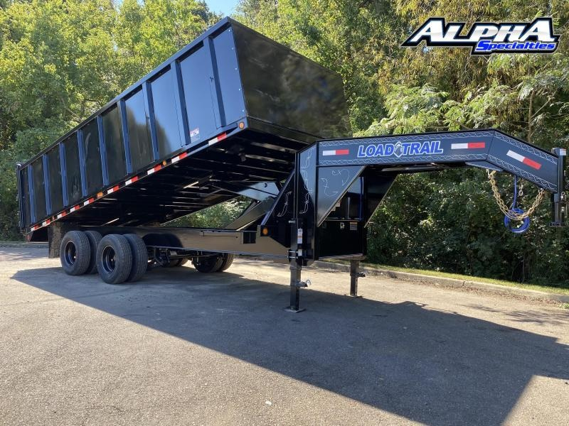 "2021 Load Trail 102"" x 20' Tandem Heavy Duty Gooseneck Dump Deck Over 22K GVWR"