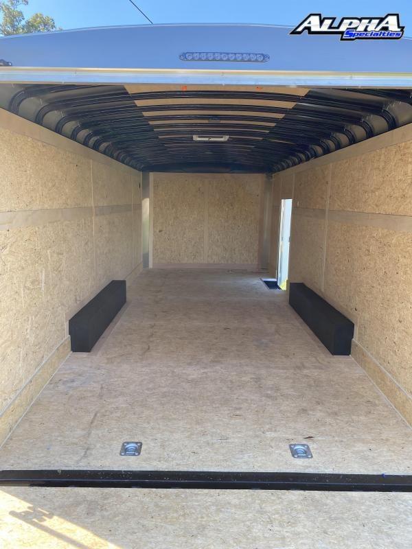 2021 Haulmark 8.5' x 20' Transport Tandem Axle Enclosed / Cargo Trailer 9990 GVWR