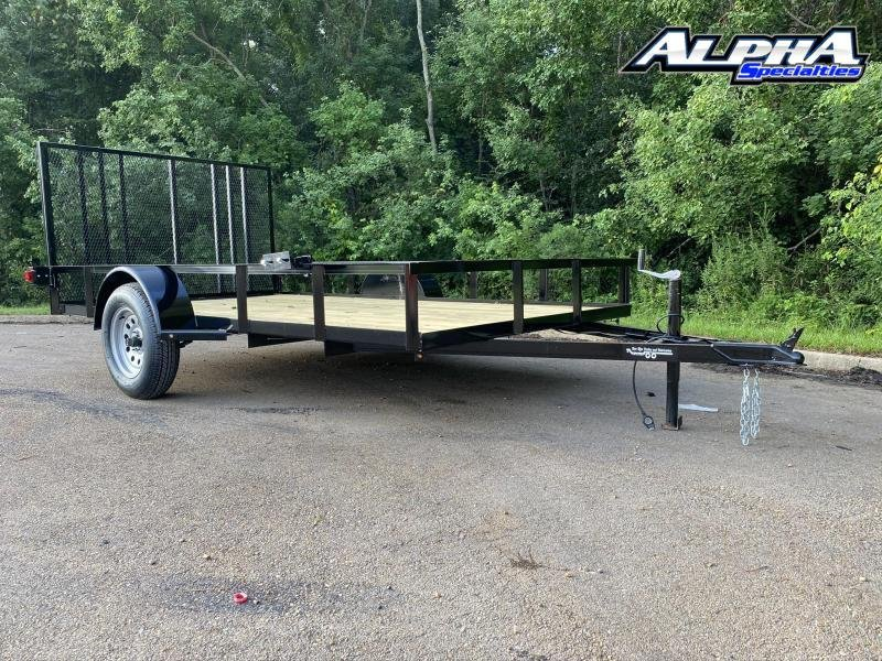 2020 Bye Rite 6.6 x 12 Single Axle Utility Trailer 2990 GVWR