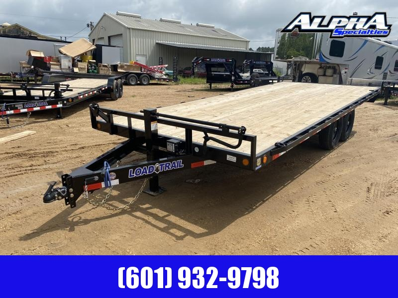 "2020 Load Trail 102"" x 20' Deck Over Pintle Hook Equipment Trailer 14K GVWR"