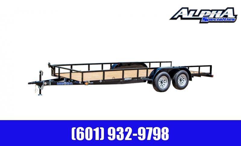 "2020 Load Trail 83"" X 18' Tandem Axle Utility Trailer (2"" x 3"" Angle Frame) 7K GVWR"