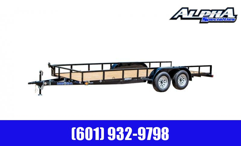"2020 Load Trail 83"" X 18' Tandem Axle Utility Trailer (2"" x 3"" Angle Frame) 7K GVWR"