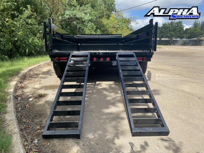 """2022 Load Trail 83"""" x 14'  Dump - 36"""" Sides"""