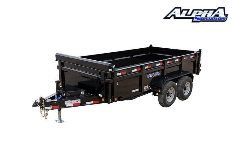 """2021 Load Trail 83"""" x 14' Tandem Axle Dump14K GVWR"""