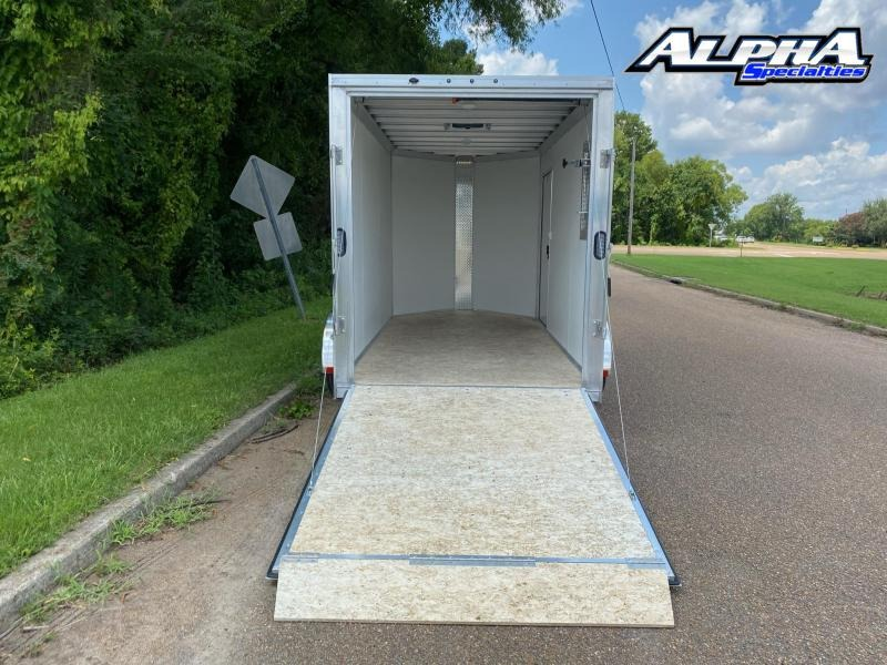 2021 ALCOM 6 x 12 Enclosed Cargo Trailer