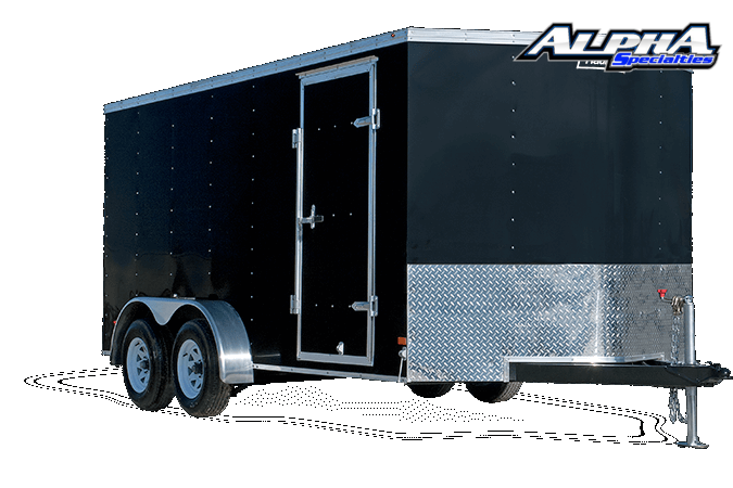 2021 Haulmark 7' x 14' Passport Tandem Axle Enclosed / Cargo Trailer 7K GVWR