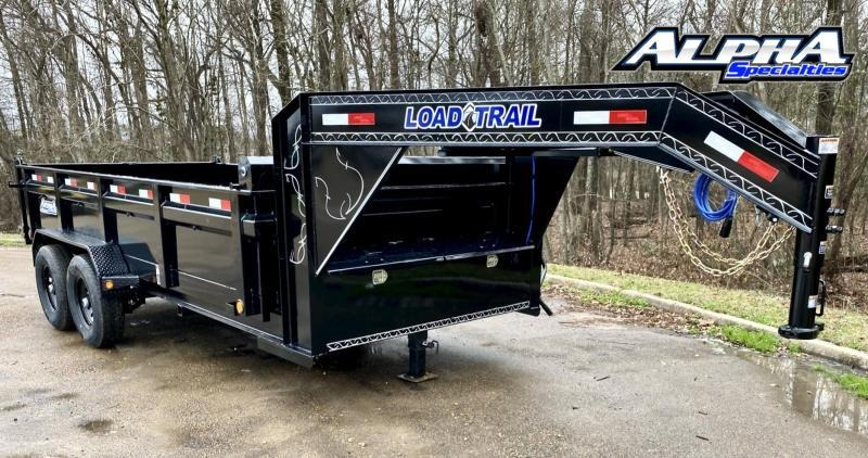 "2022 Load Trail 83"" x 16' Tandem Axle Gooseneck Dump - 24"" Sides"