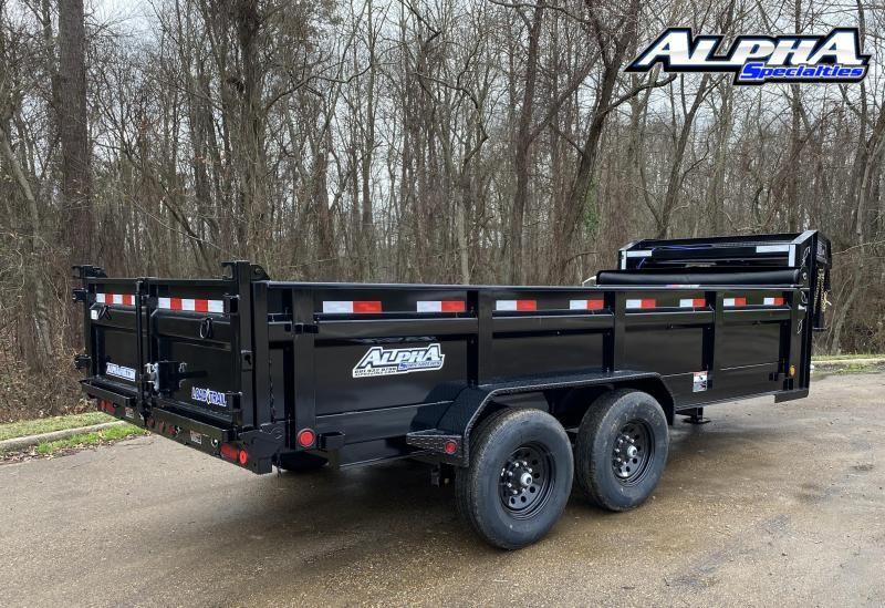 "2022 Load Trail 83"" x 16' Tandem Axle Gooseneck Dump"