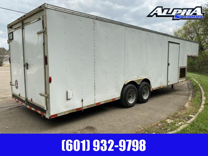 2017 Homesteader 8.5 X 34 834 Tandem Axle Gooseneck Enclosed Cargo Trailer